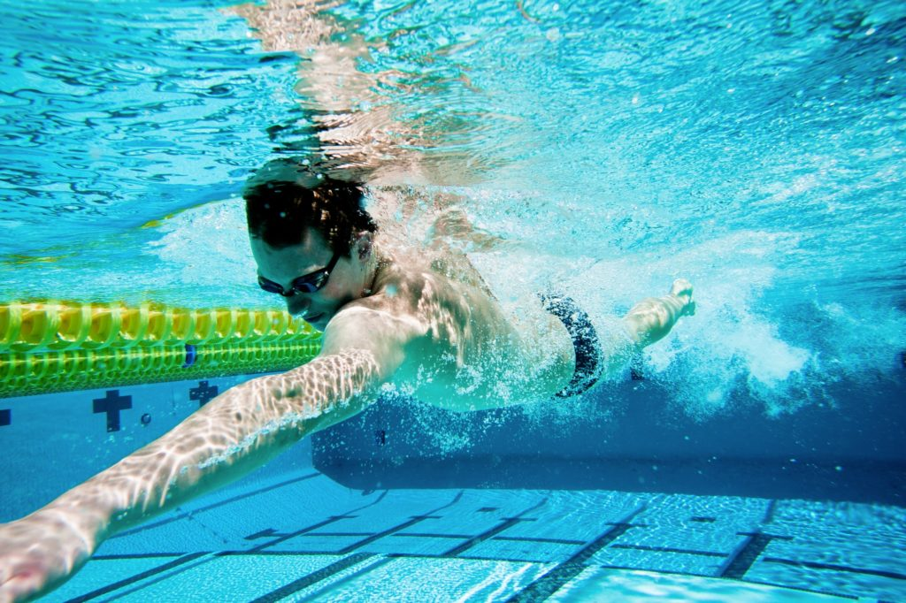 How do I get faster at swimming?